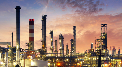 Image of petrochemical, cement,and glass manufacturer which require thermal management solutions