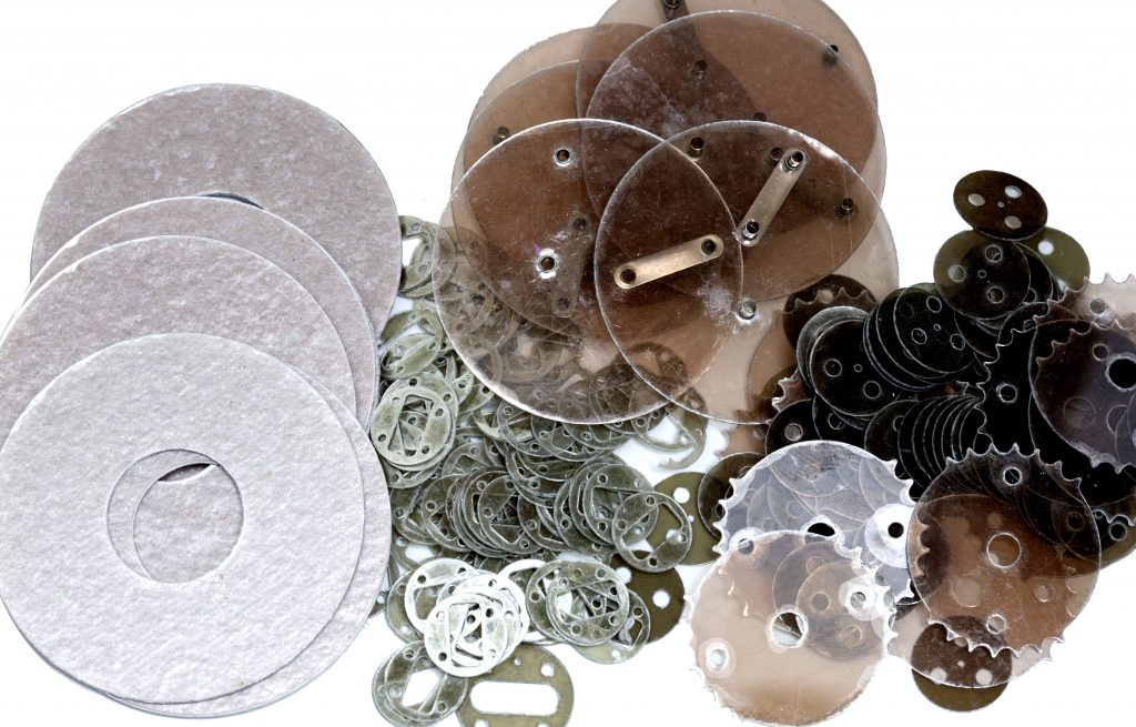 a variety of mica components, high temperature insulation