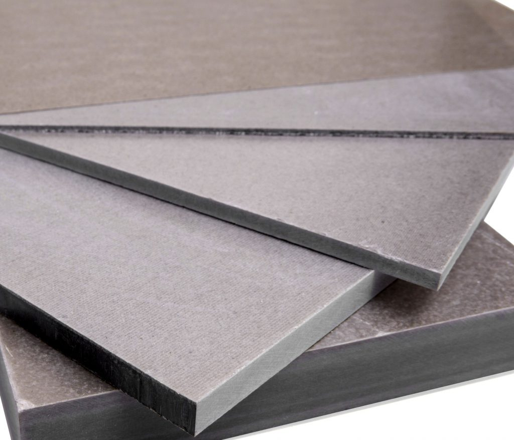 Mica sheets in varying degrees of thickness, which can be used for industrial insulation