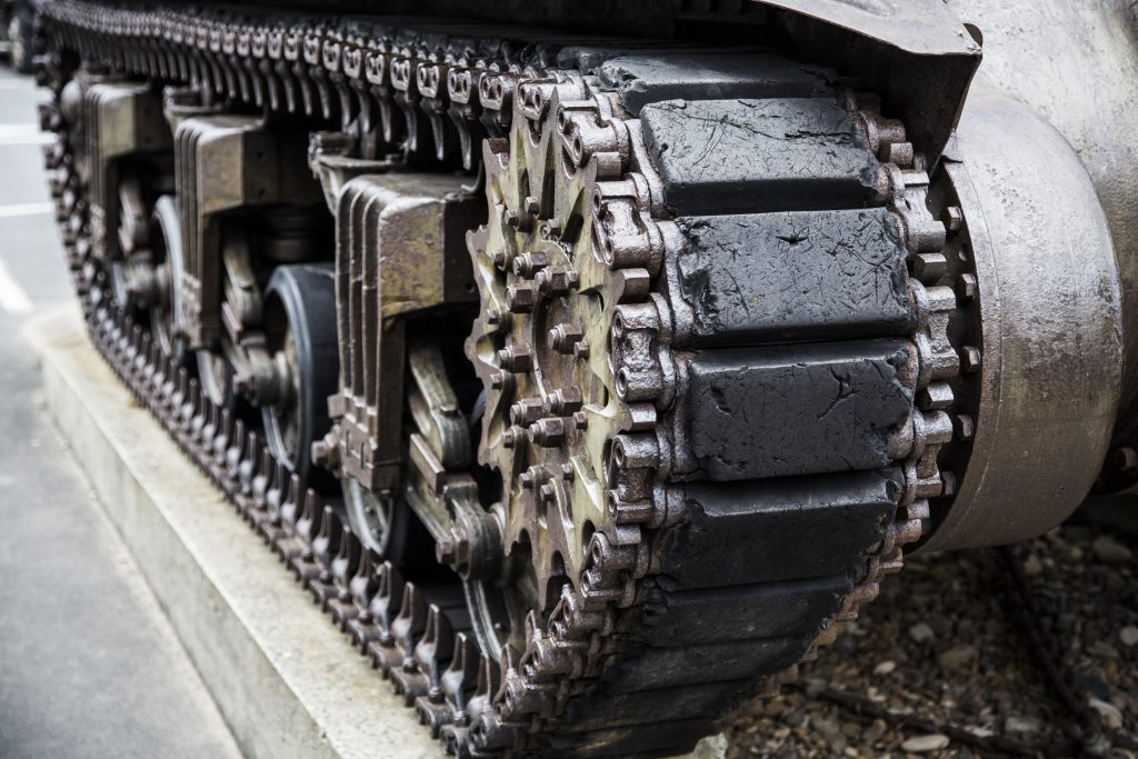 military tank wheels track for militarty requiring industrial heat insulation