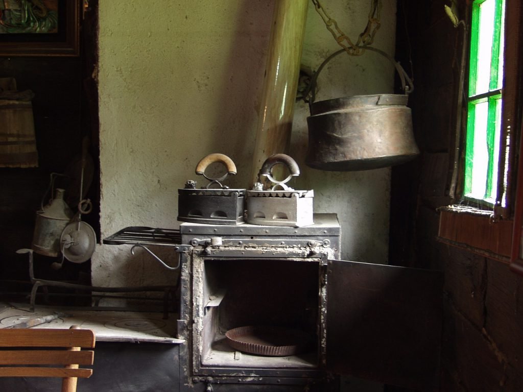 old stove or black friday blog by Elmelin on household appliances