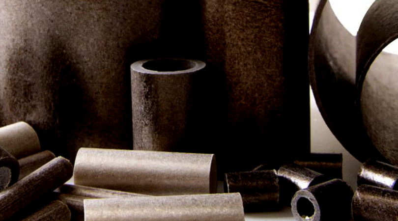 image shows various types of mica tubes