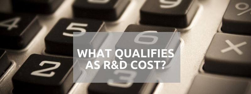 What Qualifies as R&D Cost?