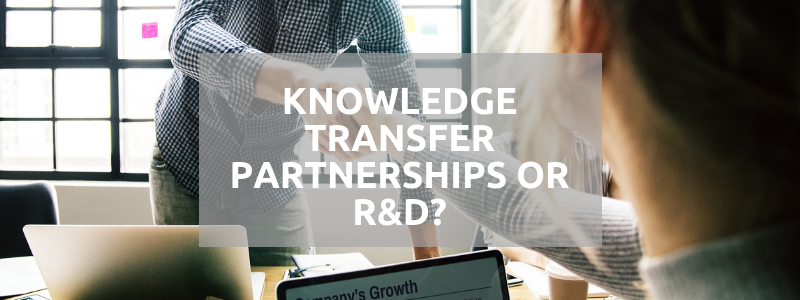 Knowledge Transfer Partnerships or R&D?