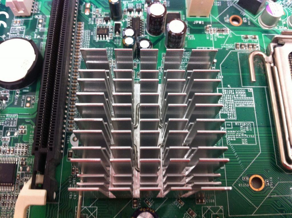 Image of heat sink for Elmelin blog entitled Thermal Management for Electronics