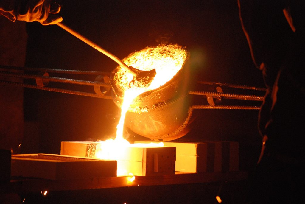 High temperature insulation such as mica is essential for foundry and steel industry