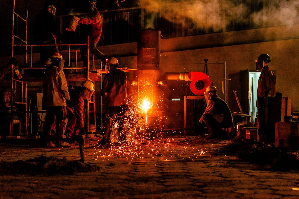 Foundry and steel industry