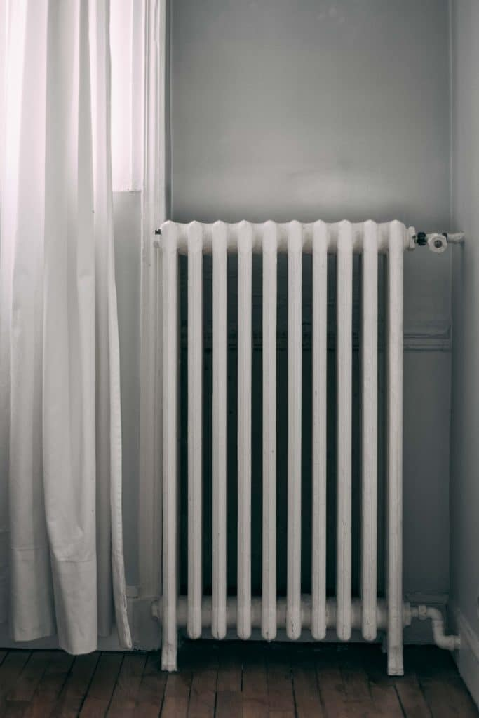 radiators are made from conducting metals